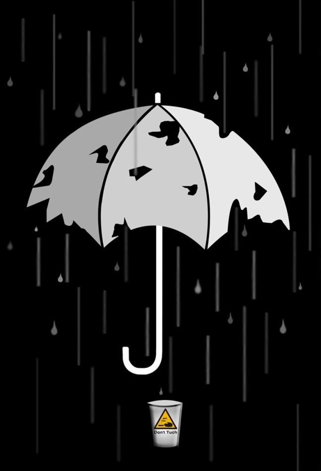 عکس باران اسیدی